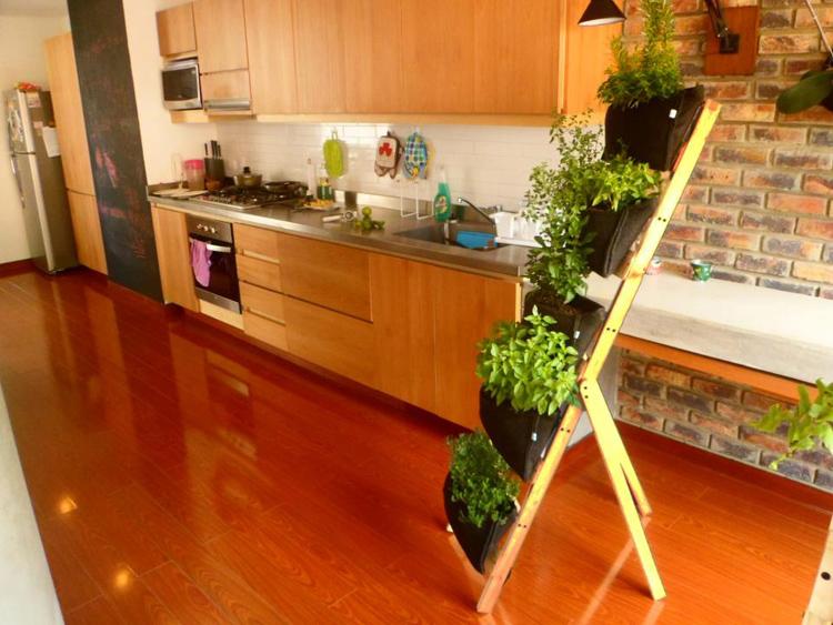 Macetas colgantes y materas bogot como hacer un jard n for Como hacer un jardin interior en casa