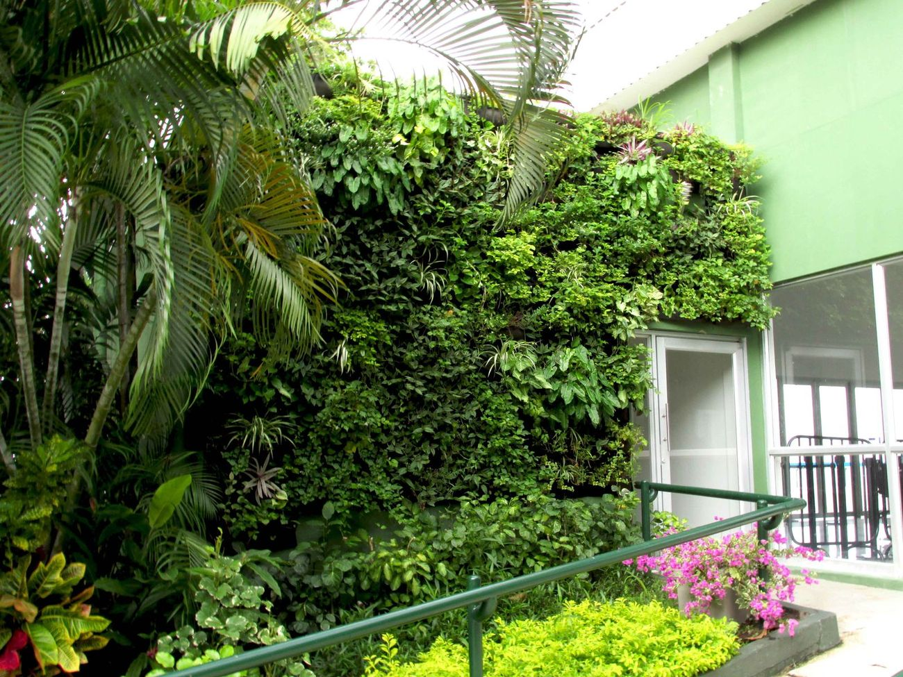 Muros verdes y techos verdes bogot y colombia proyectos - Muros verdes verticales ...