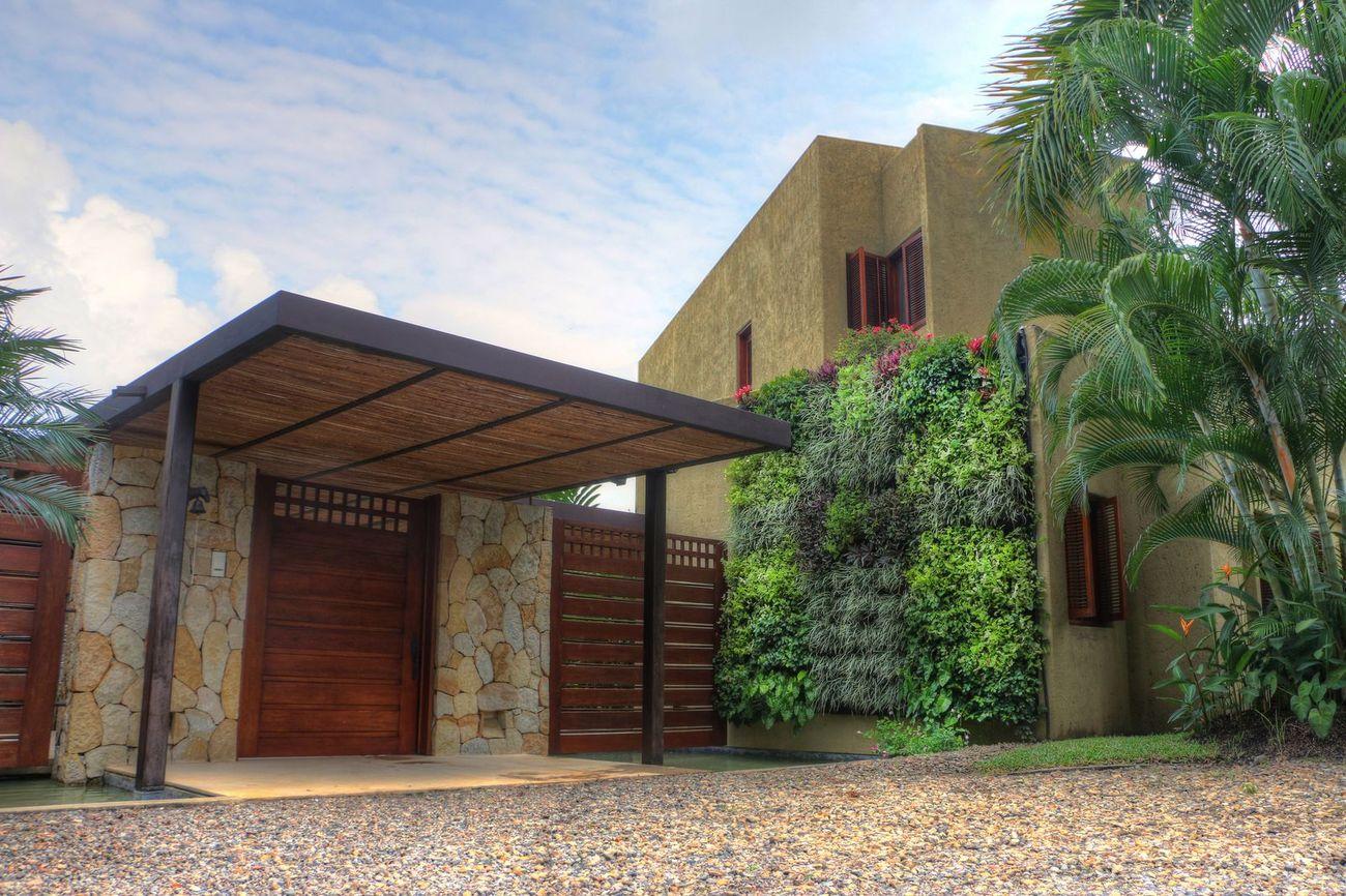 Muros verdes y techos verdes bogot y colombia proyectos for Materiales para un muro verde