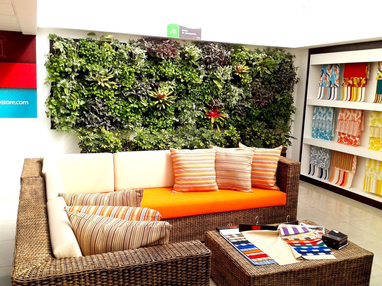Muros verdes y techos verdes bogot y colombia proyectos for Ideas para decorar un jardin economico