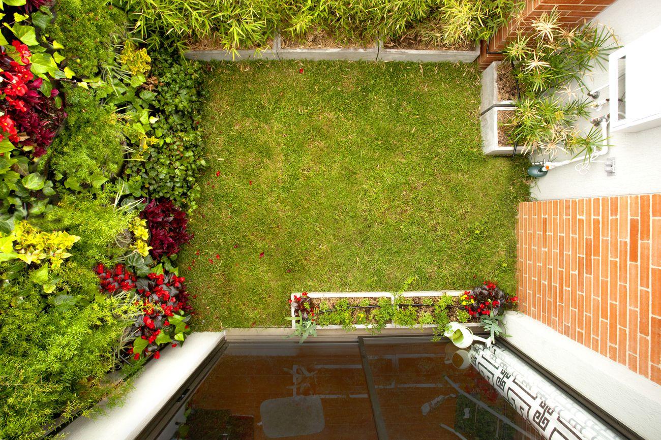 Muros verdes y techos verdes bogot y colombia proyectos for Paisajismo bogota